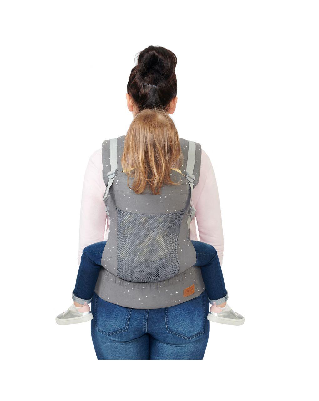 Kinderkraft huggy baby carrier grey - Kinderkraft