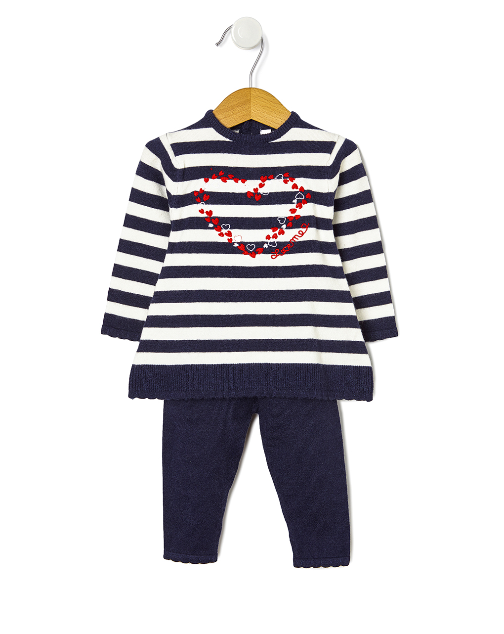 Completo tricot con ricamo - Prénatal