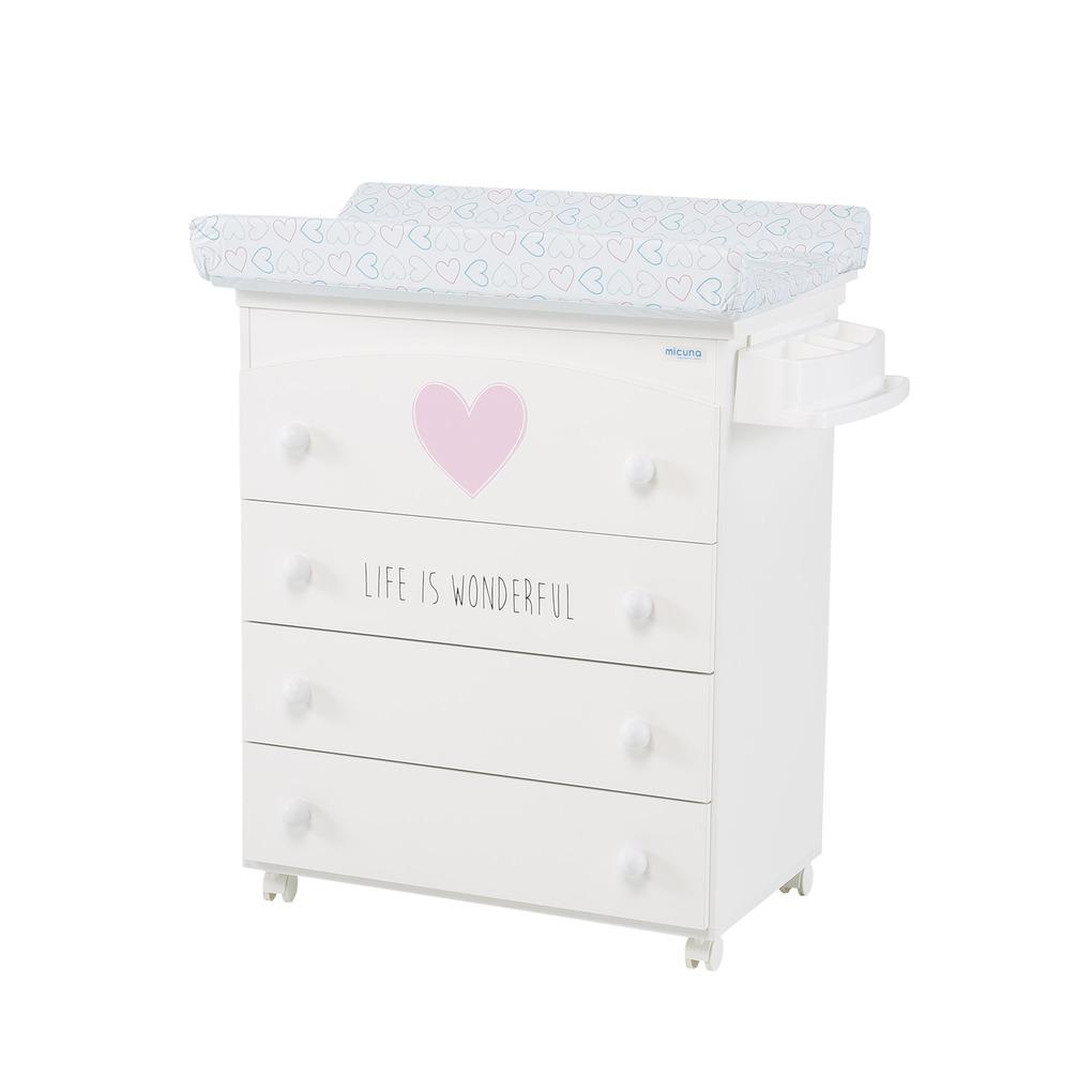 Mobile vasca da bagno wonderful bianco rosa - Micuna