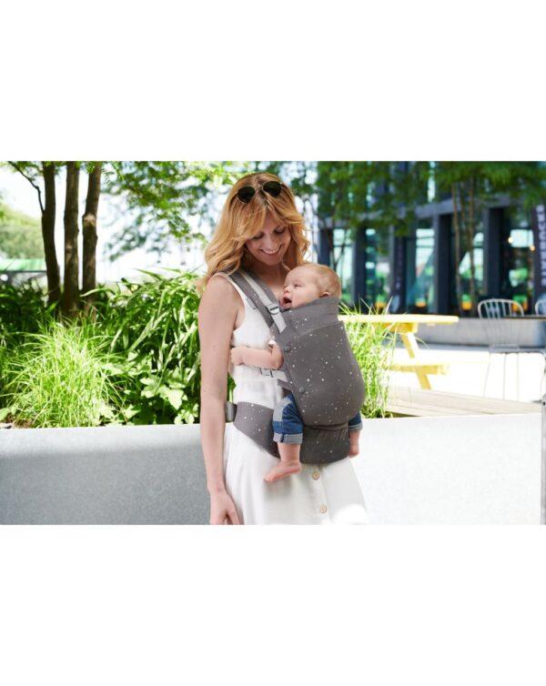HUGGY BABY CARRIER GREY - Kinderkraft