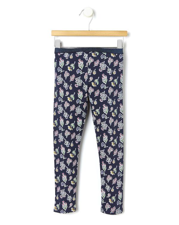Leggings con allover di fiori - Prénatal