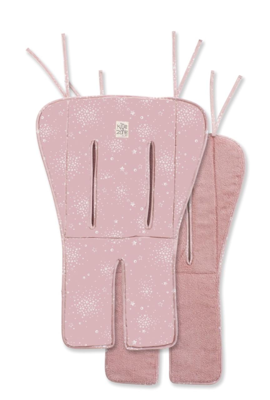 Materasso di cotone reversibile flappy boho pink - Jané