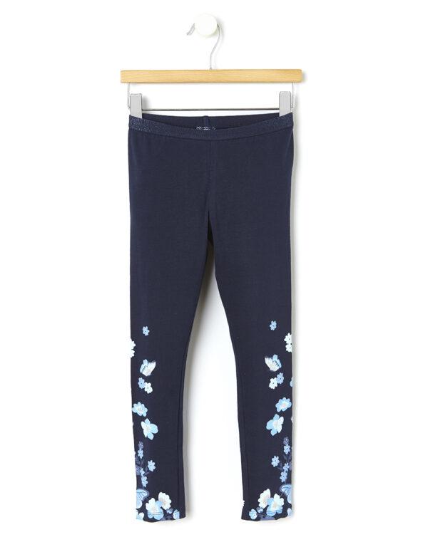 Leggings con stampa fiori e farfalle - Prénatal
