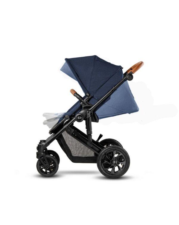 TRIO PRIME NAVY CON MOMMY BAG - Kinderkraft