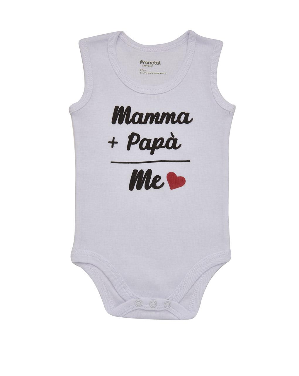 Body stampa mamma + papà - Prénatal