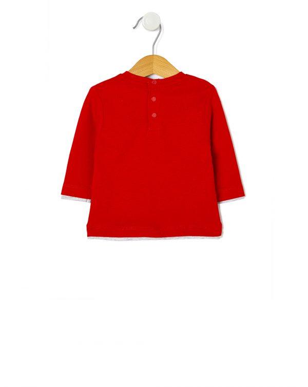 T-shirt con stampa navy - Prénatal