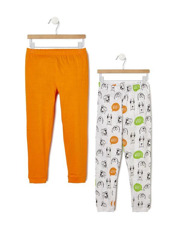 Pack 2 pigiami con stampa cani - Prénatal