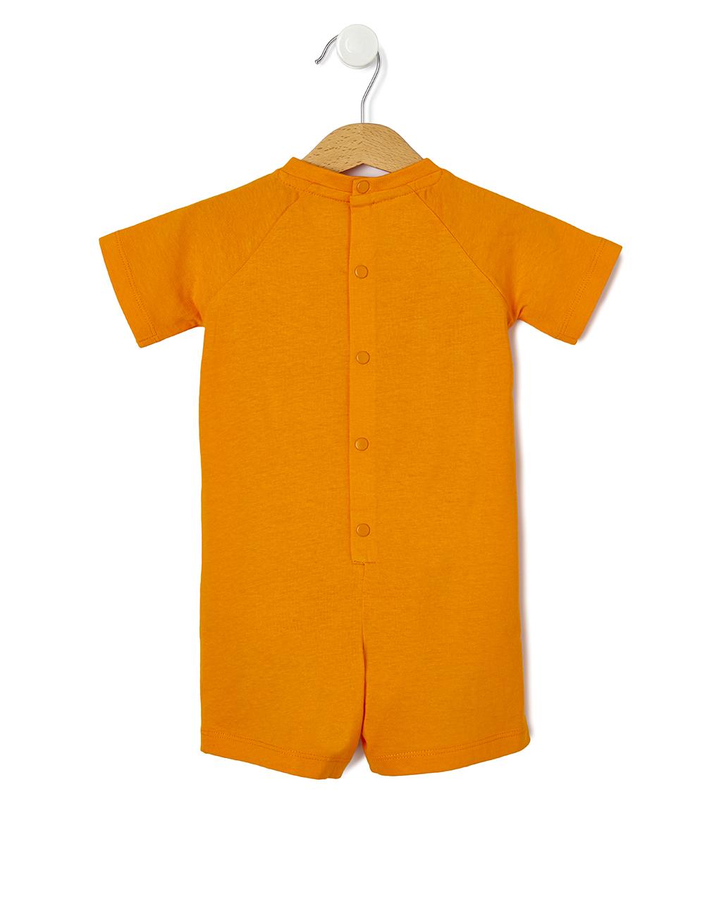 Pigiamone in jersey con stampa granchio - Prénatal