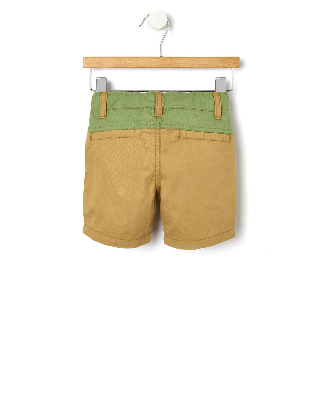 Pantalone in twill bicolore - Prénatal