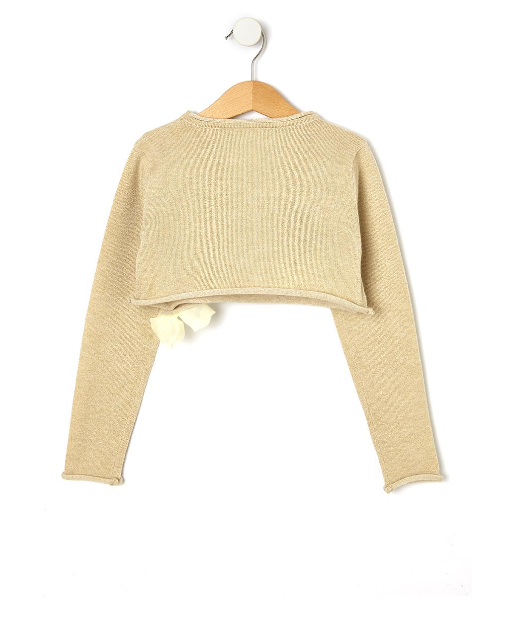 Cardigan tricot con fiocco - Prénatal