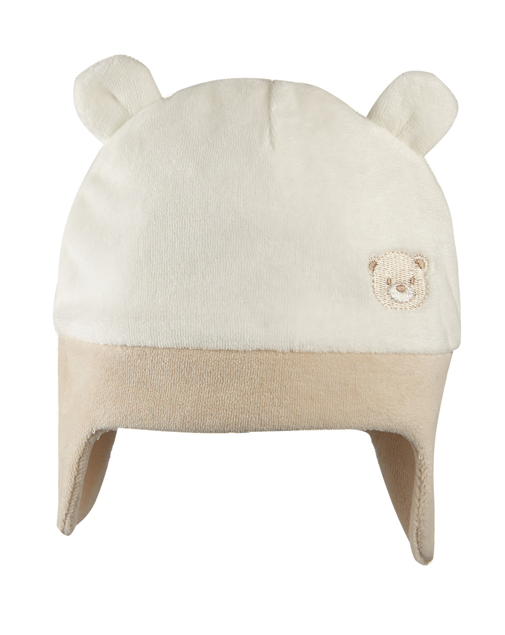 Cappello in ciniglia con orecchie - Prénatal