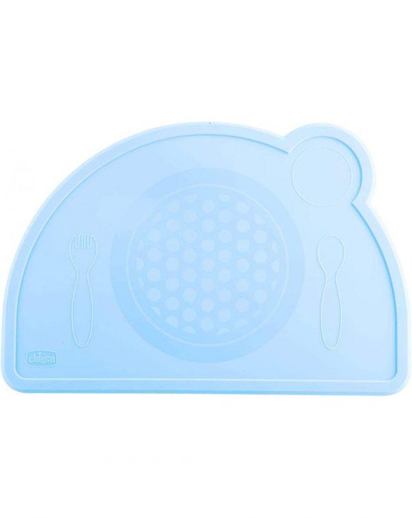 Tovaglietta Silicone Azzurra - Chicco