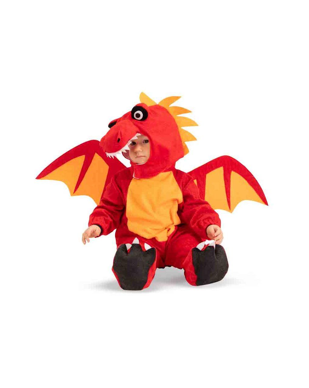 Tutina draghetto in pellicetta con cappuccio (12/18 mesi) - Carnival Toys