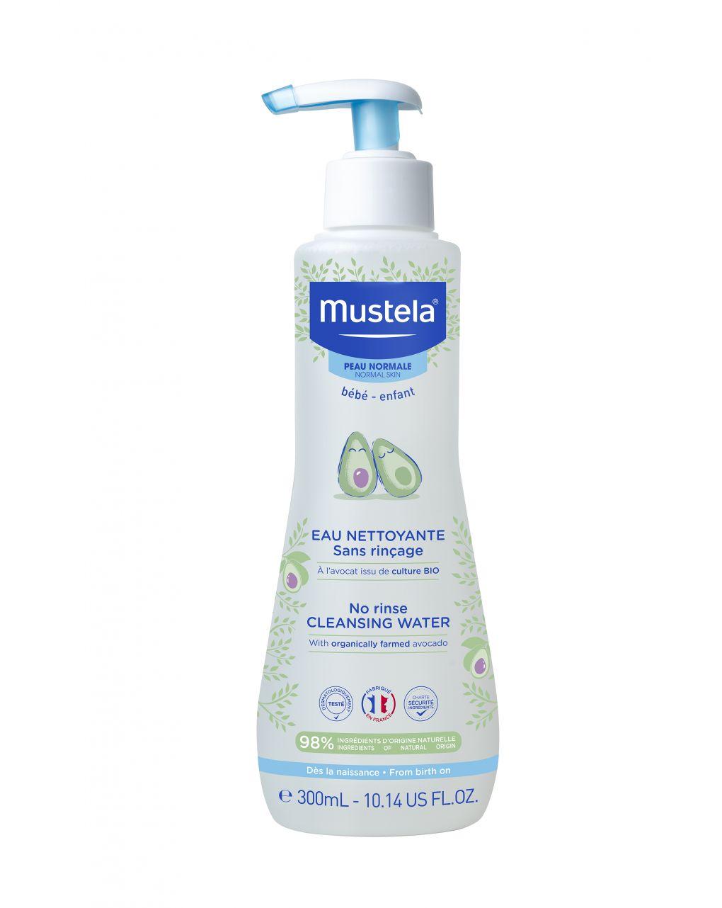 Fluido detergente senza risciacquo 300 ml - Mustela