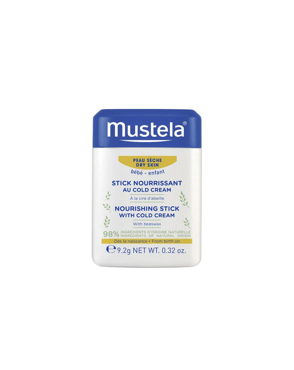 Stick nutriente alla cold cream 10 gr - Mustela