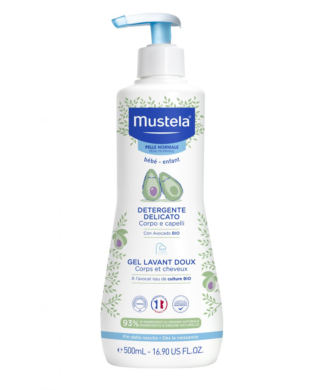 Detergente delicato 500 ml - Mustela