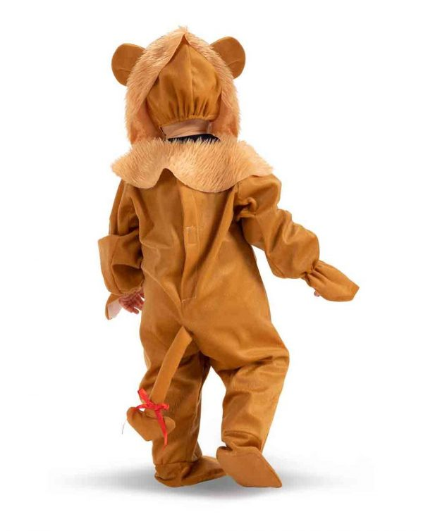 TUTINA LEONCINO IN PELLICETTA CON CAPPUCCIO (12/18 MESI) - Carnival Toys