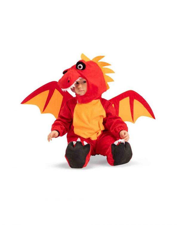 TUTINA DRAGHETTO IN PELLICETTA CON CAPPUCCIO 6/12 MESI) - Carnival Toys