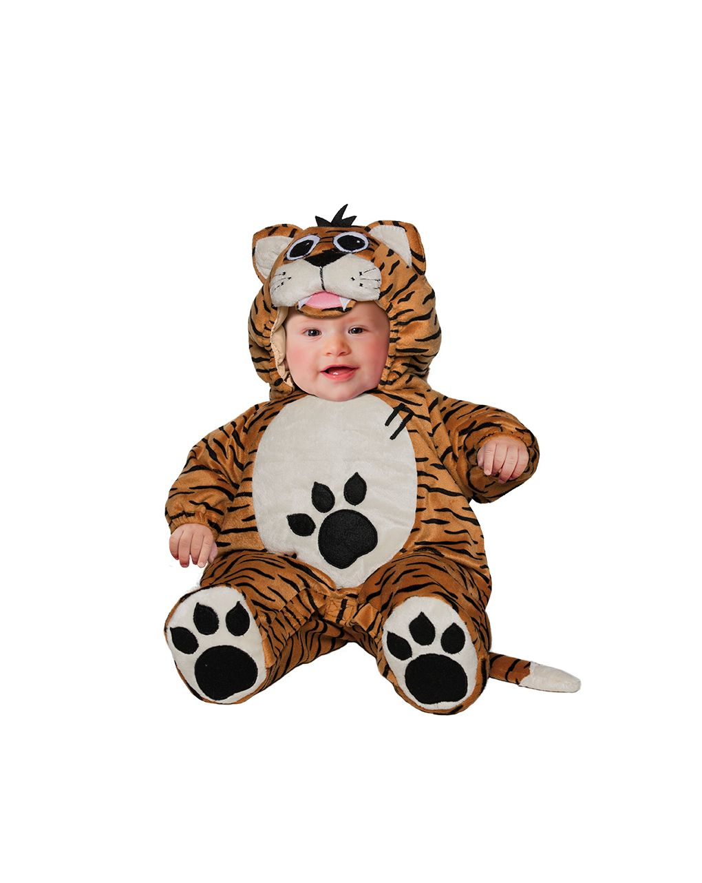 Costume tigrotto superbaby 6/9 mesi - Carnaval Queen