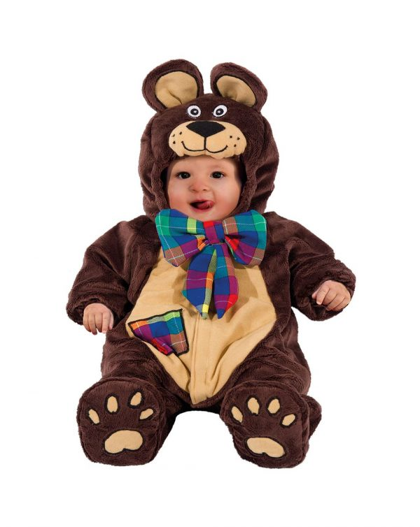 COSTUME HAPPY TEDDY SUPERBABY 3/6 MESI - Carnaval Queen