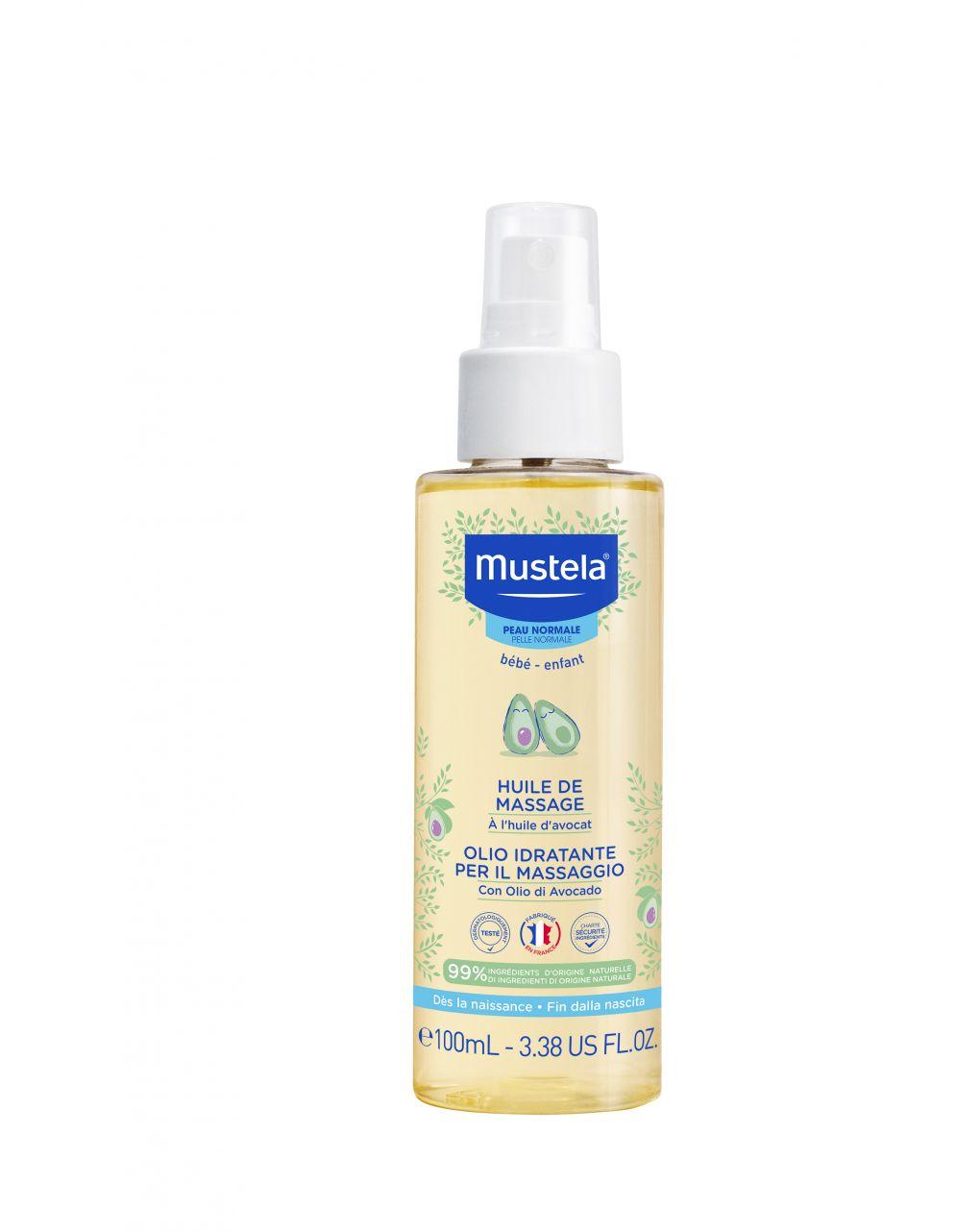 Olio idratante per il massaggio 100 ml - Mustela