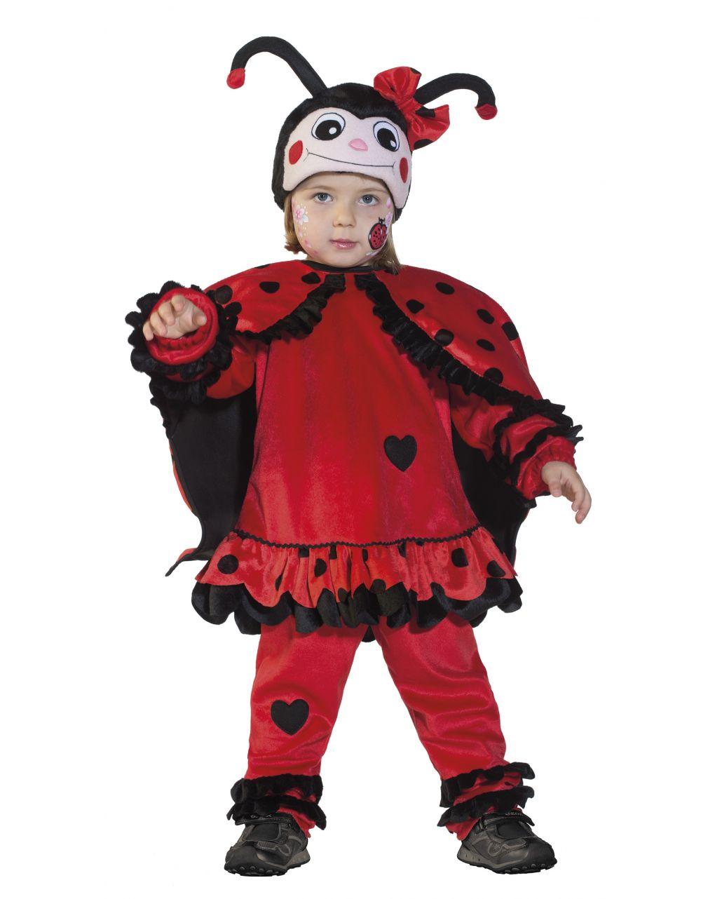 Costume coccinella baby 2/3 anni - Carnaval Queen