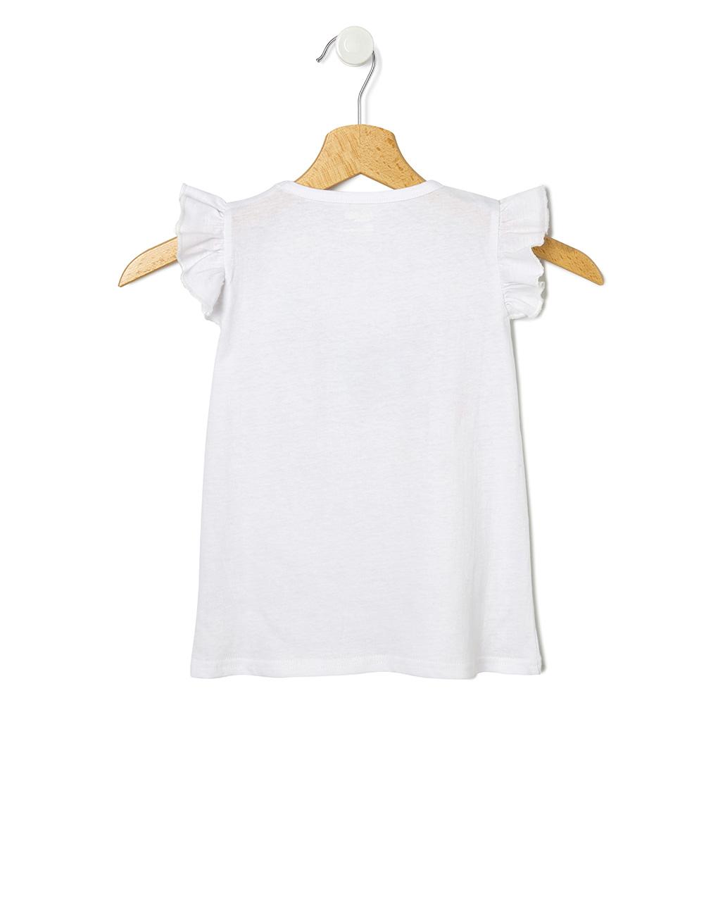 T-shirt manica corta e stampa farfalle - Prénatal