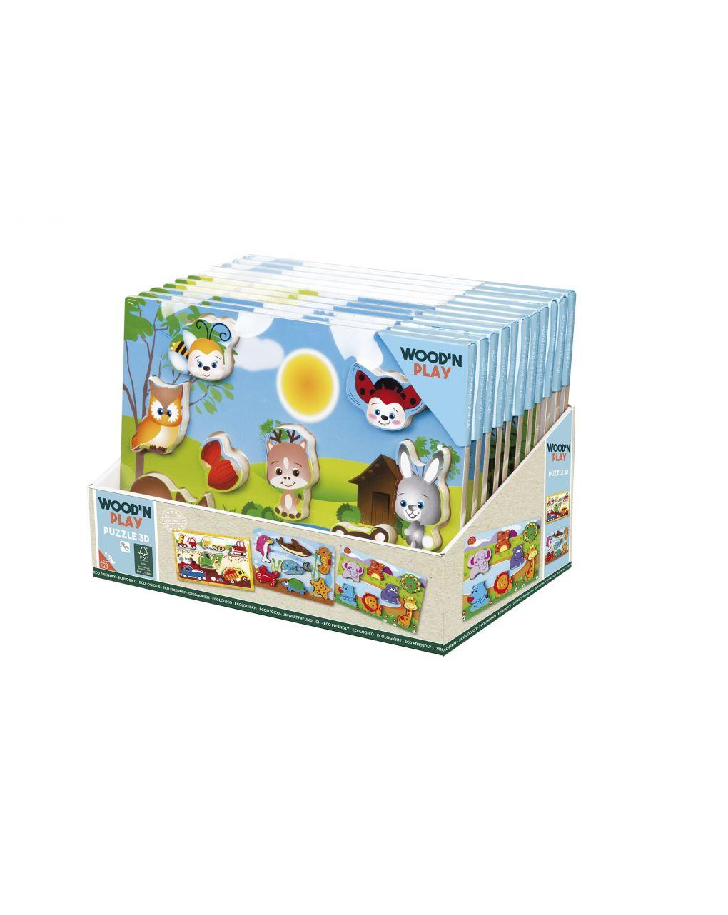 Wood'n'play - puzzle 3d - Wood'N'Play