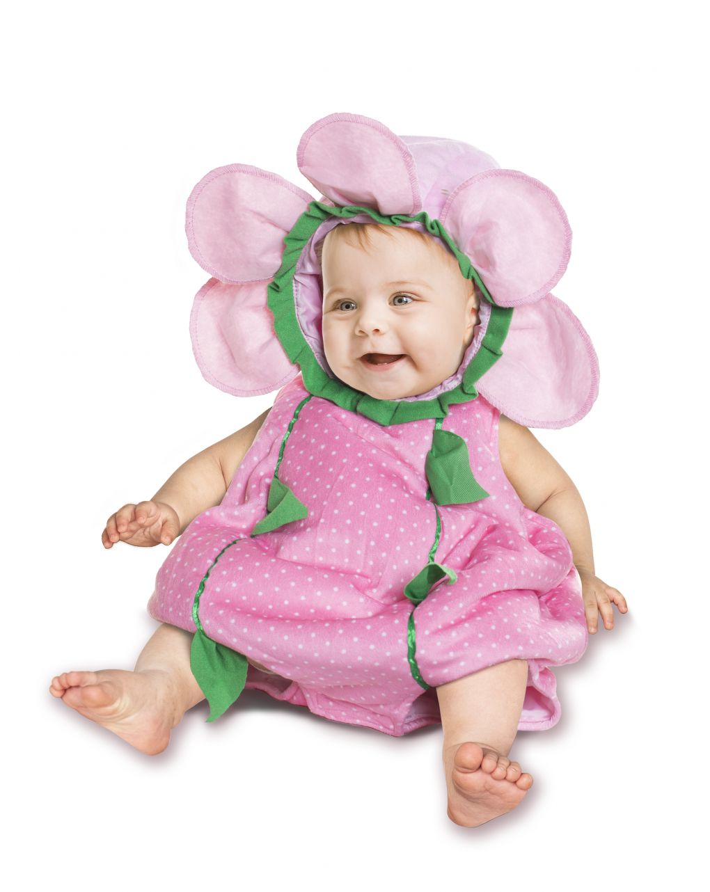 Costume fiorellino rosa baby 12 mesi - Carnaval Queen