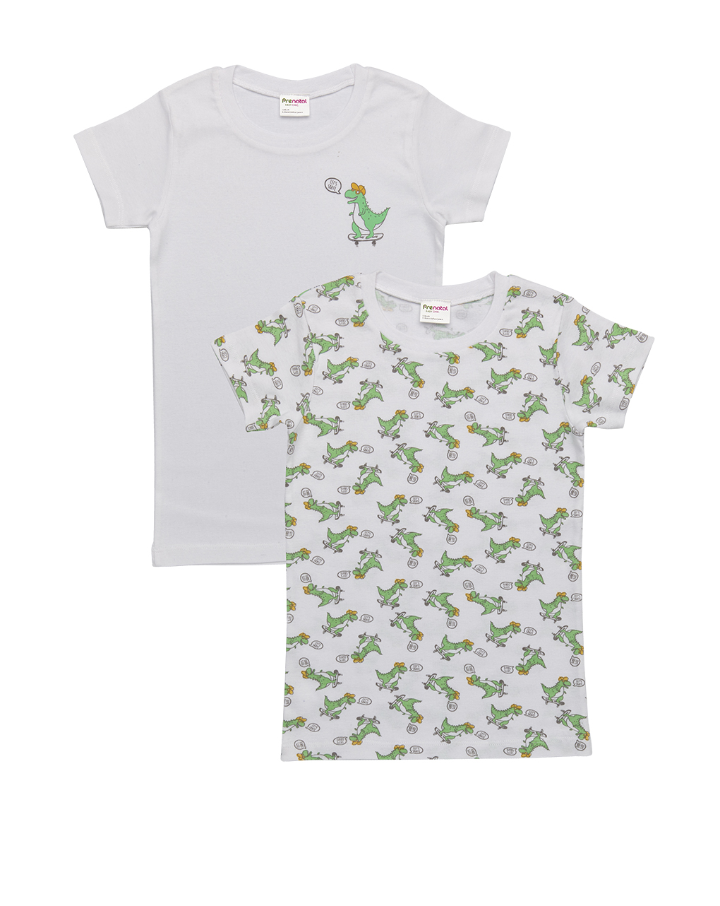 Pack 2 t-shirt con stampa dinosauro - Prénatal
