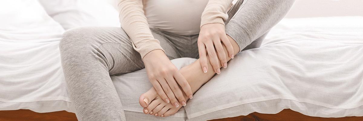 Contro i gonfiori in gravidanza, scegli il rimedio più dolce.