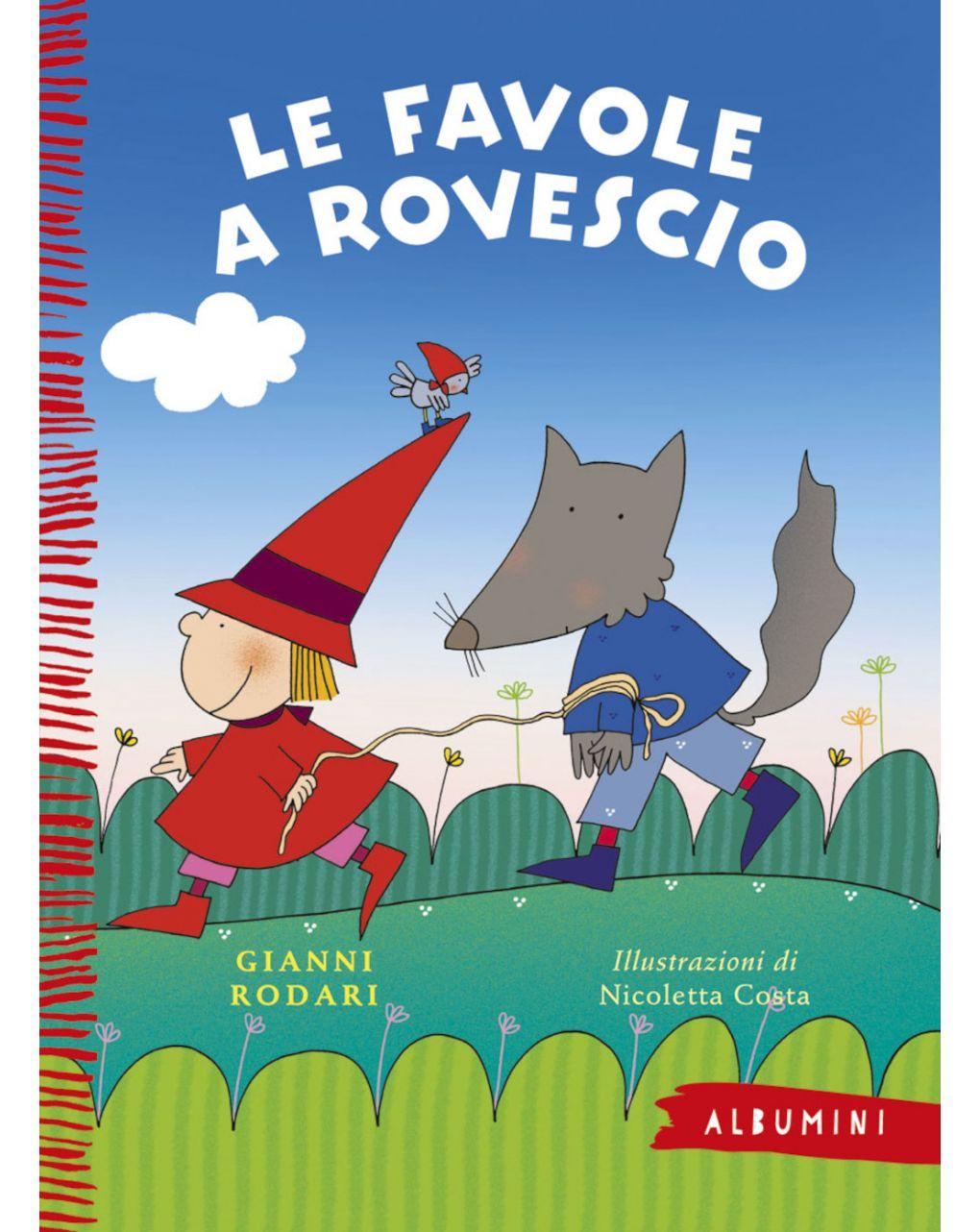 Albumini - le favole a rovescio - Edizioni EL