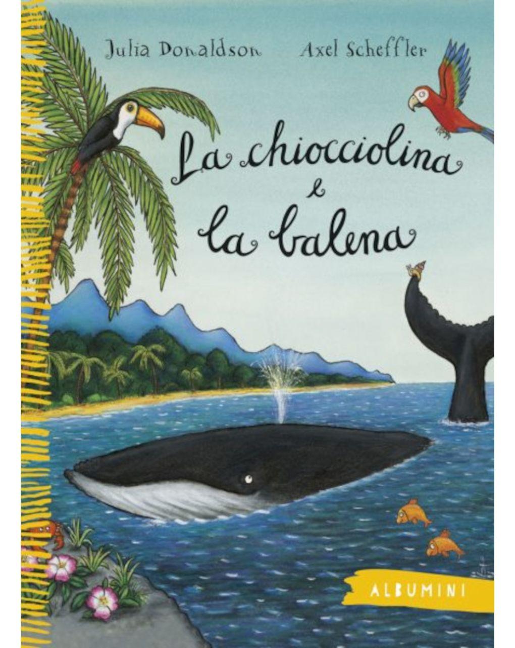Albumini - la chiocciolina e la balena - Edizioni EL