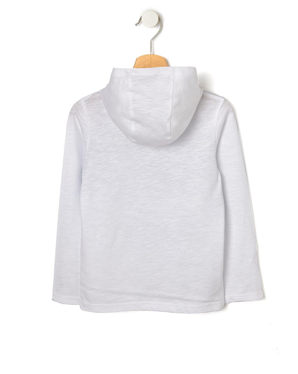 T-shirt con cappuccio e stampa skate - Prénatal