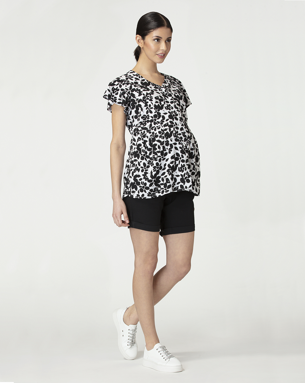 Camicia premaman con stampa floreale - Prénatal