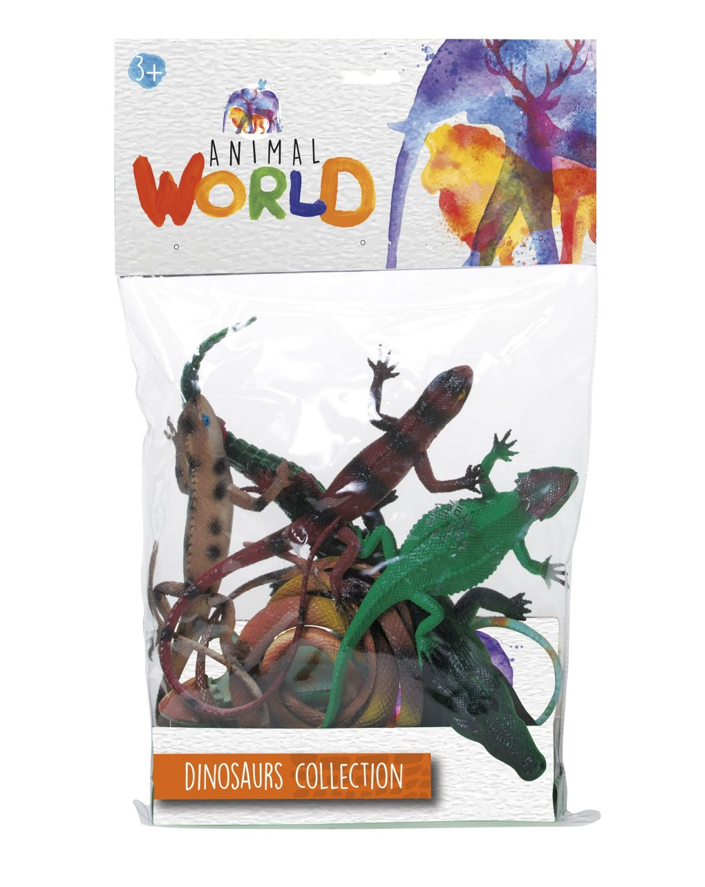 Animal world - set dinosauri - dinosaurs collection - Animal World