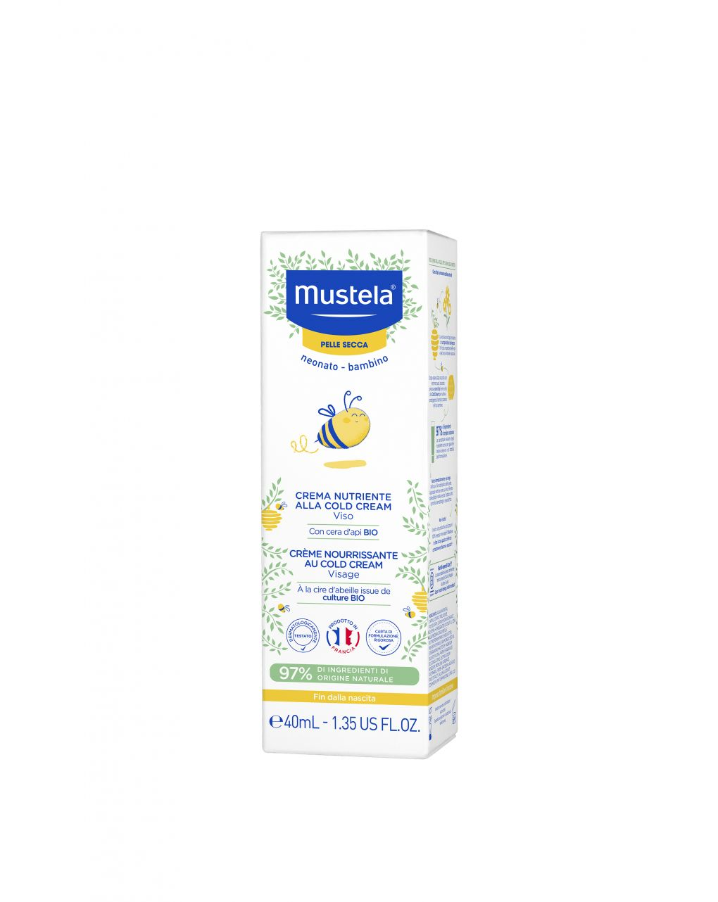 Crema nutriente alla cold cream 40ml - Mustela
