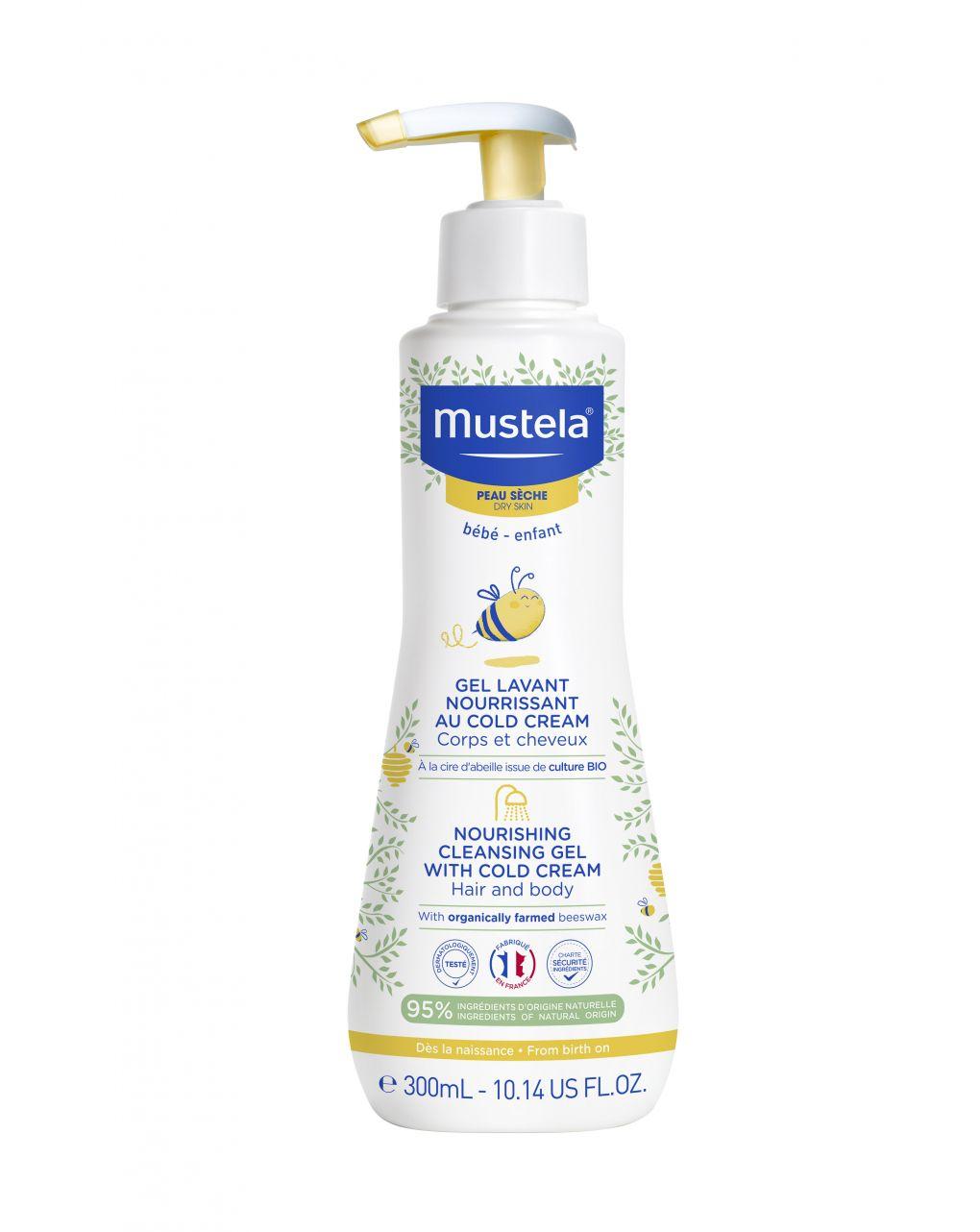 Detergente nutriente alla cold cream - Mustela