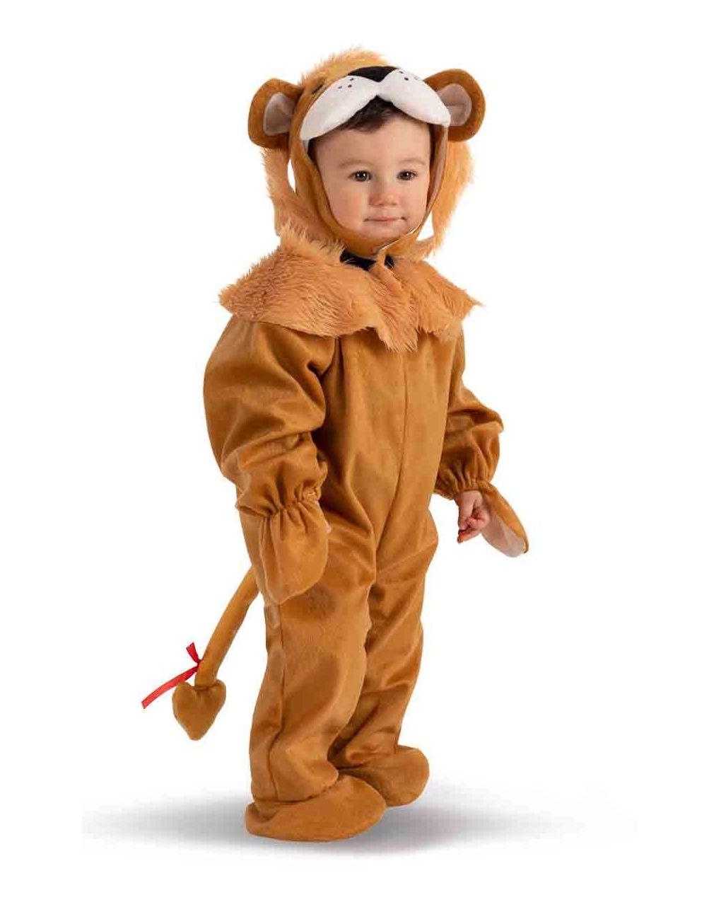 Tutina leoncino in pellicetta con cappuccio (6/12 mesi) - Carnival Toys