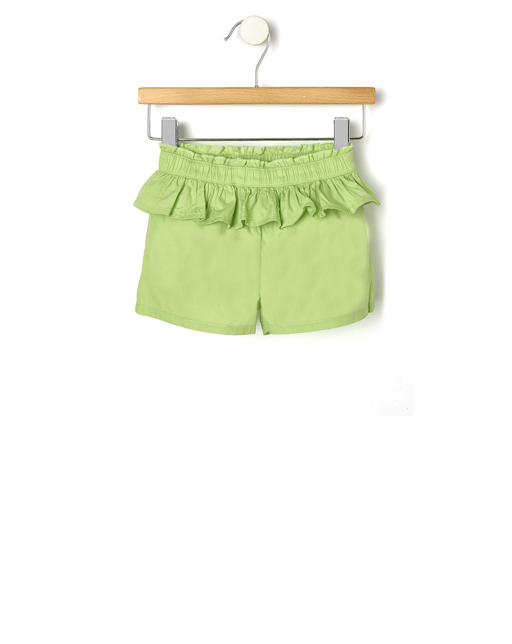 Pantaloncino in popeline con rouches - Prénatal