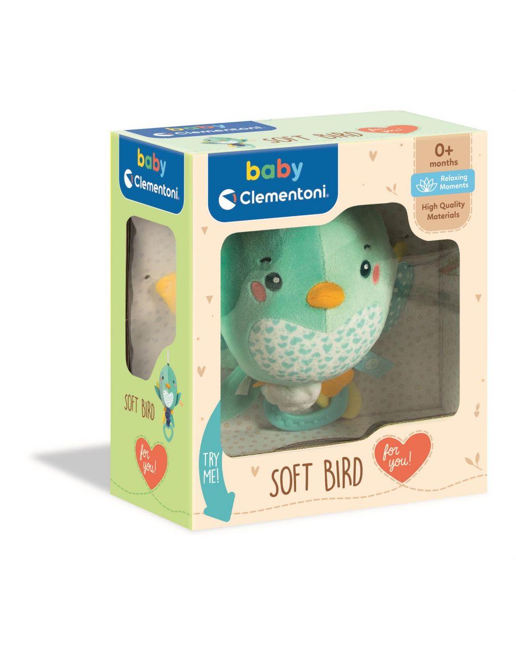 Baby clementoni - soft bird - Clementoni