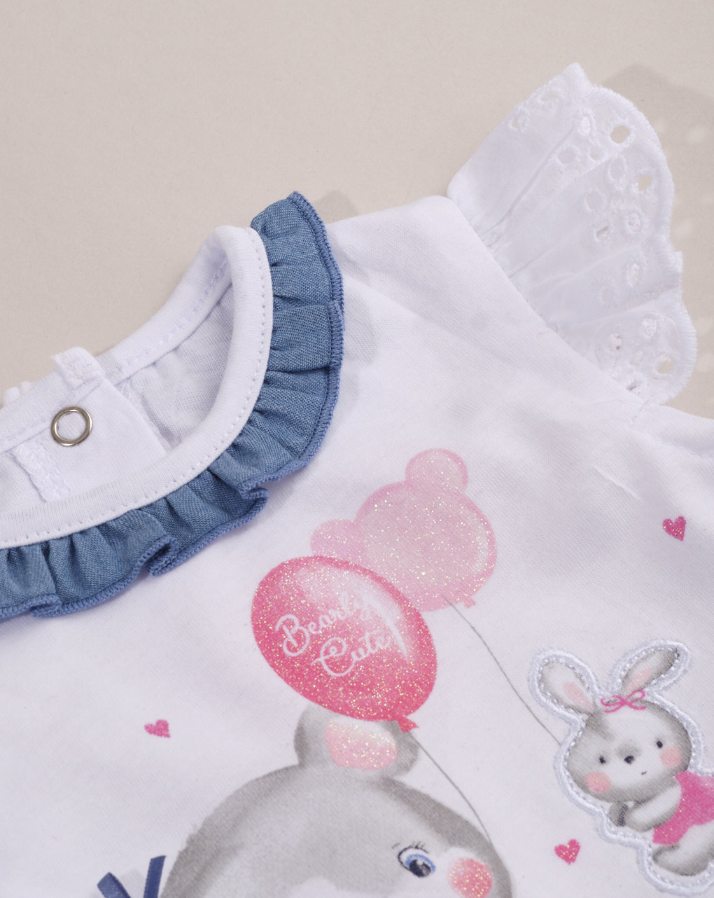 Completo bimba con gonna in blue jeans - Essential by Prénatal