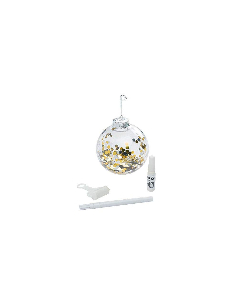 Christmas ball transparent - Baby Art