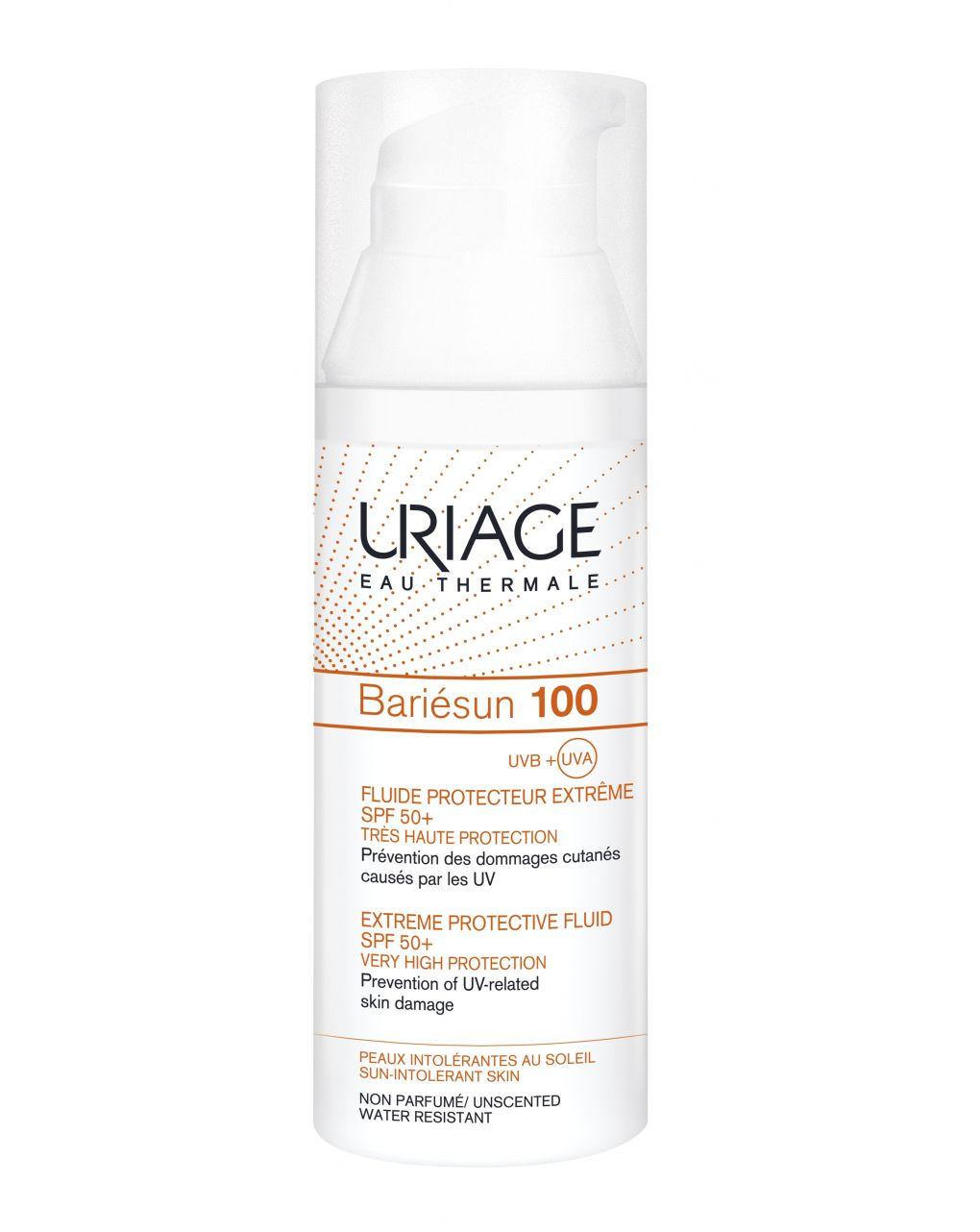 Bariesun 100 fluido protettivo estremo spf50+ - Uriage