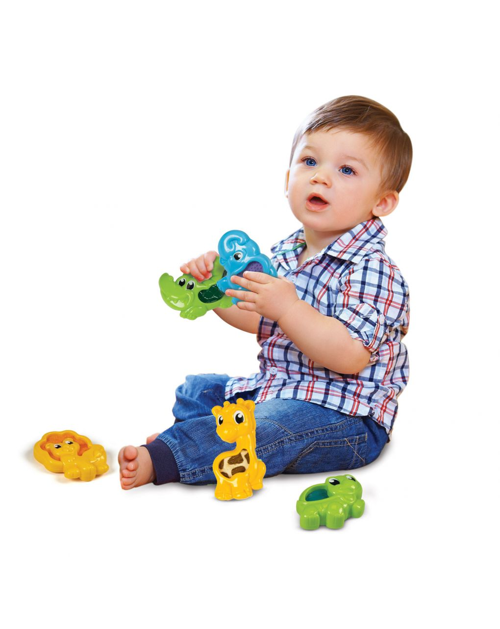 Babyclementoni - gli animali tocca e impara - Baby Clementoni