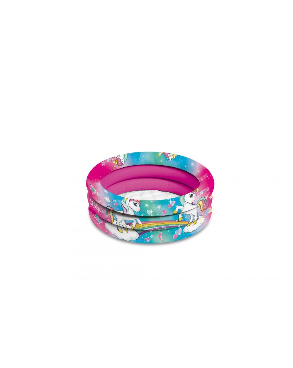 Mondo - unicorn piscina 3 anelli d. 60 cm - Mondo