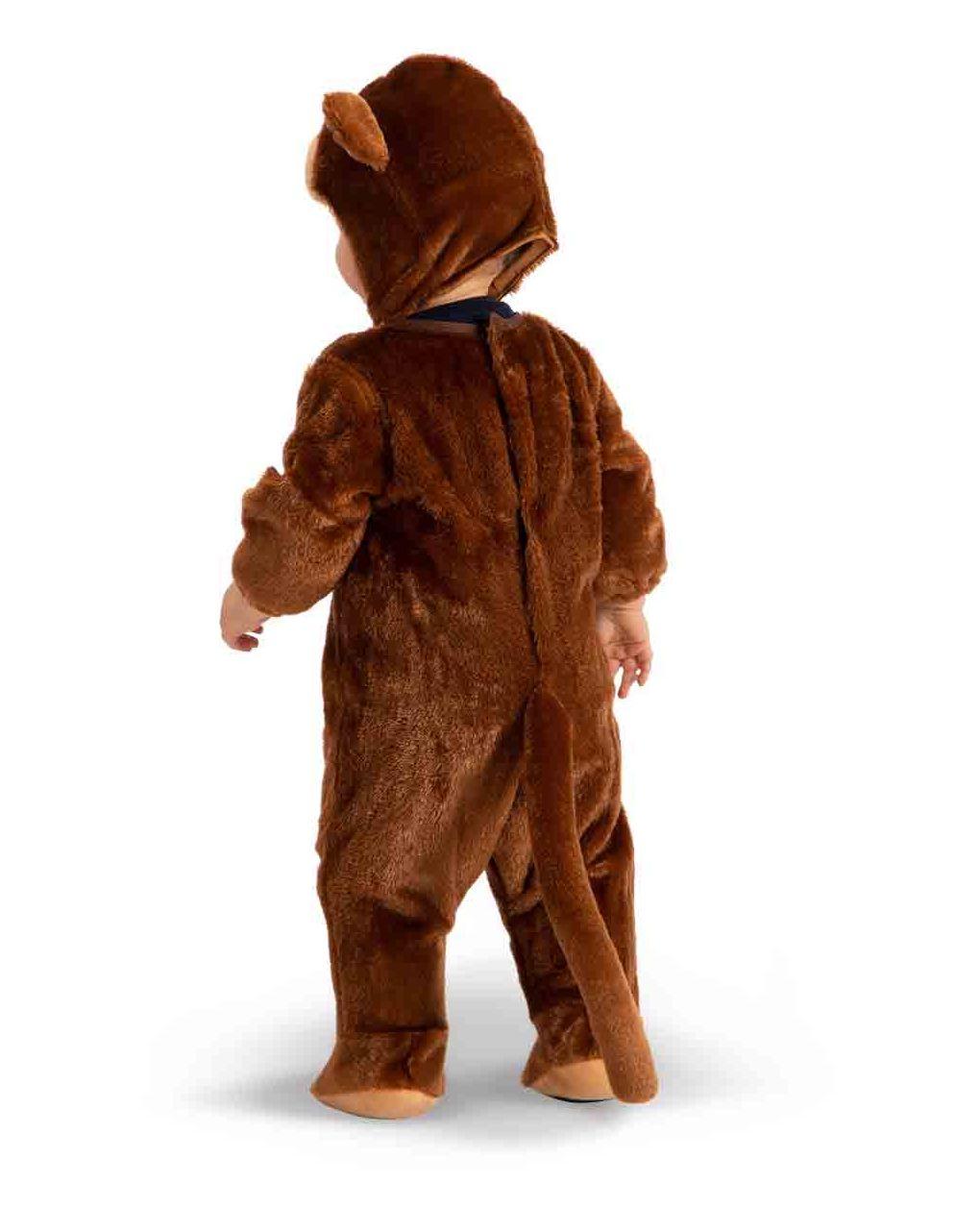 Tutina scimmietta in pellicetta con cappuccio (6/12 mesi) - Carnival Toys