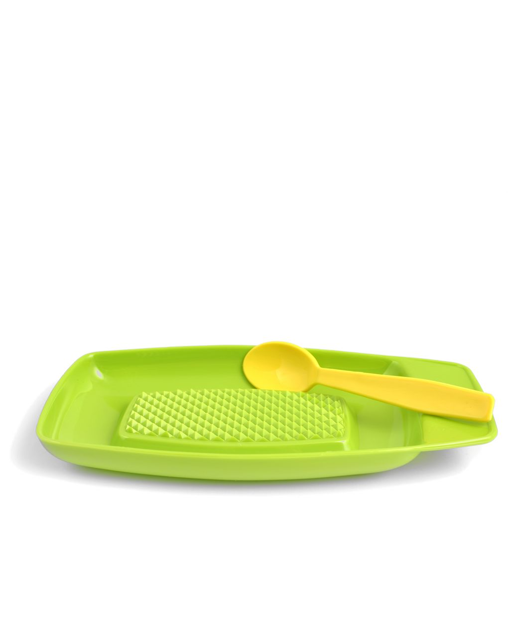 Grattuggia mele in plastica con cucchiaino - Lulabi Disney