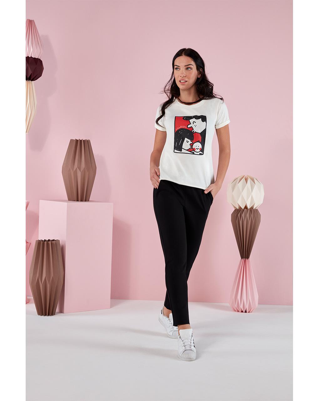 "T-shirt ""white"" - Prénatal"