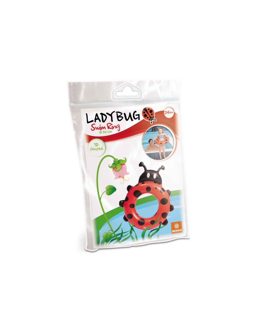 Mondo - lady bug salvagente 3d - Mondo